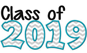 Class Of 2019 Embroidery Design Class Of 2019 Applique Machine Embroidery Design 10x6
