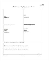Blank Chart Template 27 Blank Chart Templates Free Premium Templates