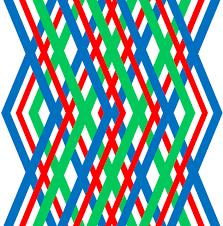 <b>Geometric</b>, <b>Design</b>, <b>Red</b>, <b>Green</b>, Blue
