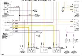 civic headlight wiring diagram image wiring 2001 honda civic light electrical problem 2001 honda civic 4 cyl on 99 civic headlight wiring