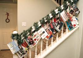 Free Standing Christmas Card Holder Display 100 Christmas Card Display Ideas The Organised Housewife 16