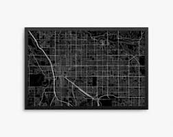 Small Picture Tucson map print Etsy