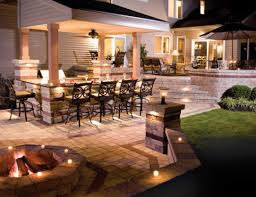 achieving a sophisticated outdoor kitchen lighting35 kitchen