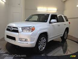 2010 Toyota 4Runner Limited 4x4 in Blizzard White Pearl - 004725 ...