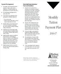 Payment Plan Agreement Template Fresh 9 Form Sample Free Samples ...