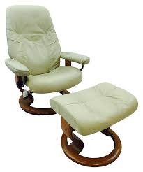 norwegian vintage office chair. Vintage Ekornes Norway Stressless Chair \u0026 Ottoman Norwegian Office