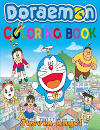 For kids & adults you can print doraemon or color online. Doraemon Coloring Book For Kids Ages 4 8 Angel Jusvin 9781075693601 Amazon Com Books