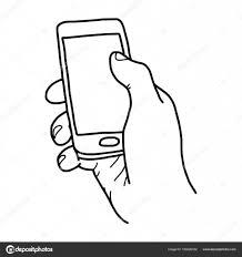 空白 ベクトル イラスト スケッチ手白い背景で隔離の黒い線で描かれ