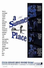 not so much the but the theme theme from a summer place