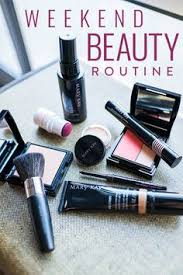 morning makeup set up and ready to go pink cheeks a bright lip and a flawless looking plexion mary kay