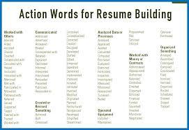 Action Verbs For Resumes Beauteous Action Verbs On Resume Worldwidejibaroco