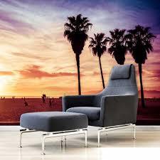De Avond Sky Livingroom Achtergrond 3d Behang Mural Photowall 3d