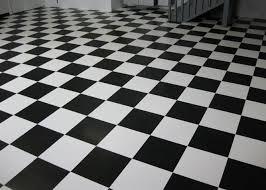 vct tile 12 x 12 vinyl composition tile flooring installed on a