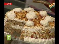 This recipe is a sponsored post written by me on behalf of atkins. Coffee Crunch Cake By Shireen Anwer Zaiqa