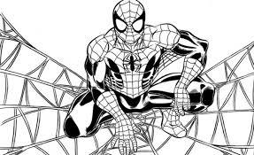 Disegni Bimbi Da Colorare Spider Man Migliori Pagine Da Colorare E