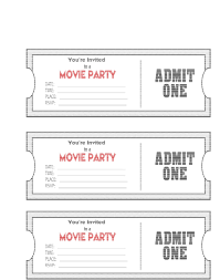 Blank Tickets Template Ticket Microsoft Word Blanks Usa Raffle