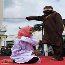 Wife caned her husband