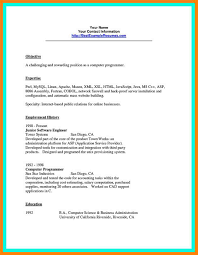 10 Computer Programmer Resume Writing A Memo