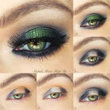 smokey emerald eye makeup look bmodish