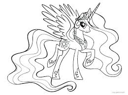 Mlp Printable Coloring Pages Coloring Pages Rarity Printable For