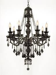black murano glass crystal chandelier light modern chandeliers