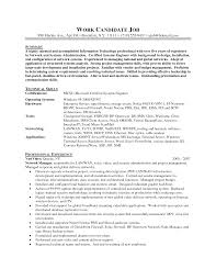 Systems Admin Resumes Sample Resume For System Administrator In India