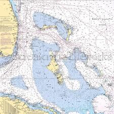 Islands Bahamas Nautical Chart Decor