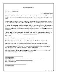 Promissory Note Word Template Unsecured Note Template Promissory Word Elegant Templates