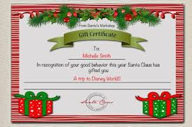 11 Kids Christmas Certificate Templates Free Printable Word Pdf