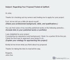 ways you can be an exceptional lancer  lance client proposal email template example