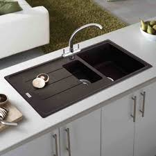 black sink cleaning ways stupendous yourkitchen kitchen