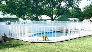 temporary pool fence ideas aluminum image of white color for s perth fasc
