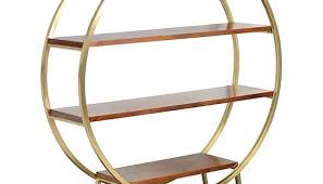 round metal shelf interior round metal shelf unit shelving half wall wooden metal shelf rack india round metal shelf