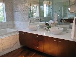 marble bathroom countertops. Cool Collection Of Marble Bathroom Ideas Two Bowl Shape Sink Over Table Countertop With Black Countertops