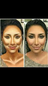 contour makeup for middle eastern arabian native american spanish