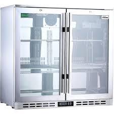 bar refrigerator glass door captivating glass door fridge rhino s steel glass door commercial bar fridge