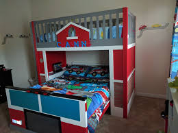 car beds with slides. Wonderful With Fire Truck Kids Bed Bunk Beds Funny With Car Slides U