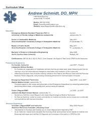 medical - Sample Resume Physician