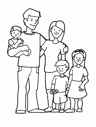 Great Family C Photographic Gallery Family Coloring Book At
