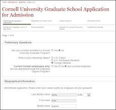 sample application form of cornell university sample application  sample masters application form of cornell university
