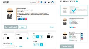 Company Email Signature Email Signature Generator For Your Company Newoldstamp
