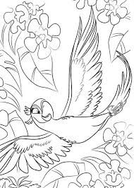 Small Picture Beautiful Jewel is Flying in Rio Movie Coloring Pages Batch Coloring