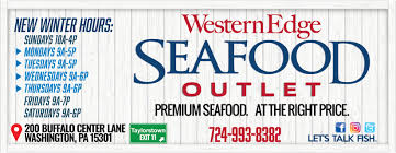 Western Edge Seafood Outlet - Home ...