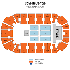 Covelli Center Seating Chart Covelli Centre Seating Chart Covelli Centre Seating Chart