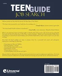 Teen job search guide how