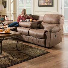 seater recliner couch soft brown