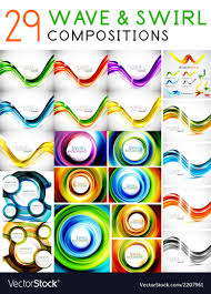 Swirls Templates Mega Set Of Waves And Swirls Design Templates