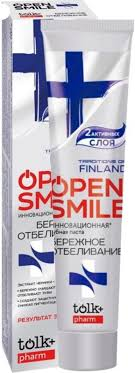 <b>Зубная паста</b> Tolk Pharm <b>Open smile</b> Тraditions Of Finland 100г ...