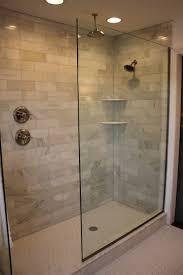 Shower Design Doorless Walk In Shower Designs Shower Handle On Separate Wall