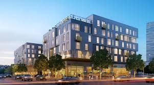 modern apartment buildings los angeles. two big projects proposed for south park block - downtown los angeles is in the midst of an apartment boom. modern buildings